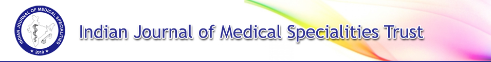 Indian Journal of Medical Specialities Trust
